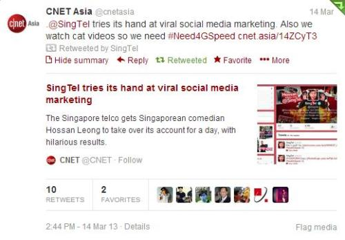 Cnet Asia joins the conversation